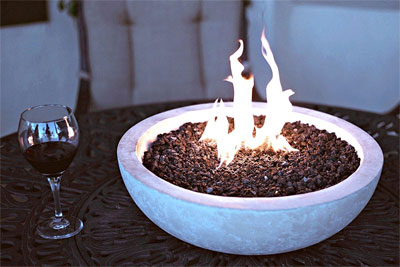 How to Make a Fire Pit Table with a Tabletop Fire Bowl