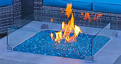 Gas Fire Pit Flames