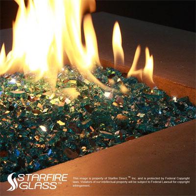 starfire fire glass vs lava rock for fire pits