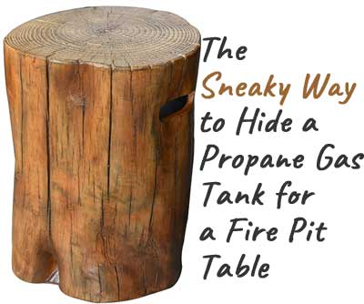 Tree Stump Fire Pit Table What I Like Dislike About It