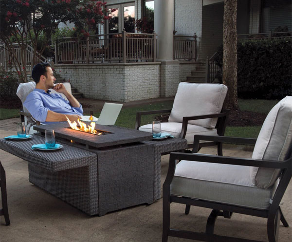 What Makes This Sunbrella Fire Pit Set