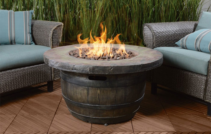 Vineyard Fire Pit Table - Vineyard